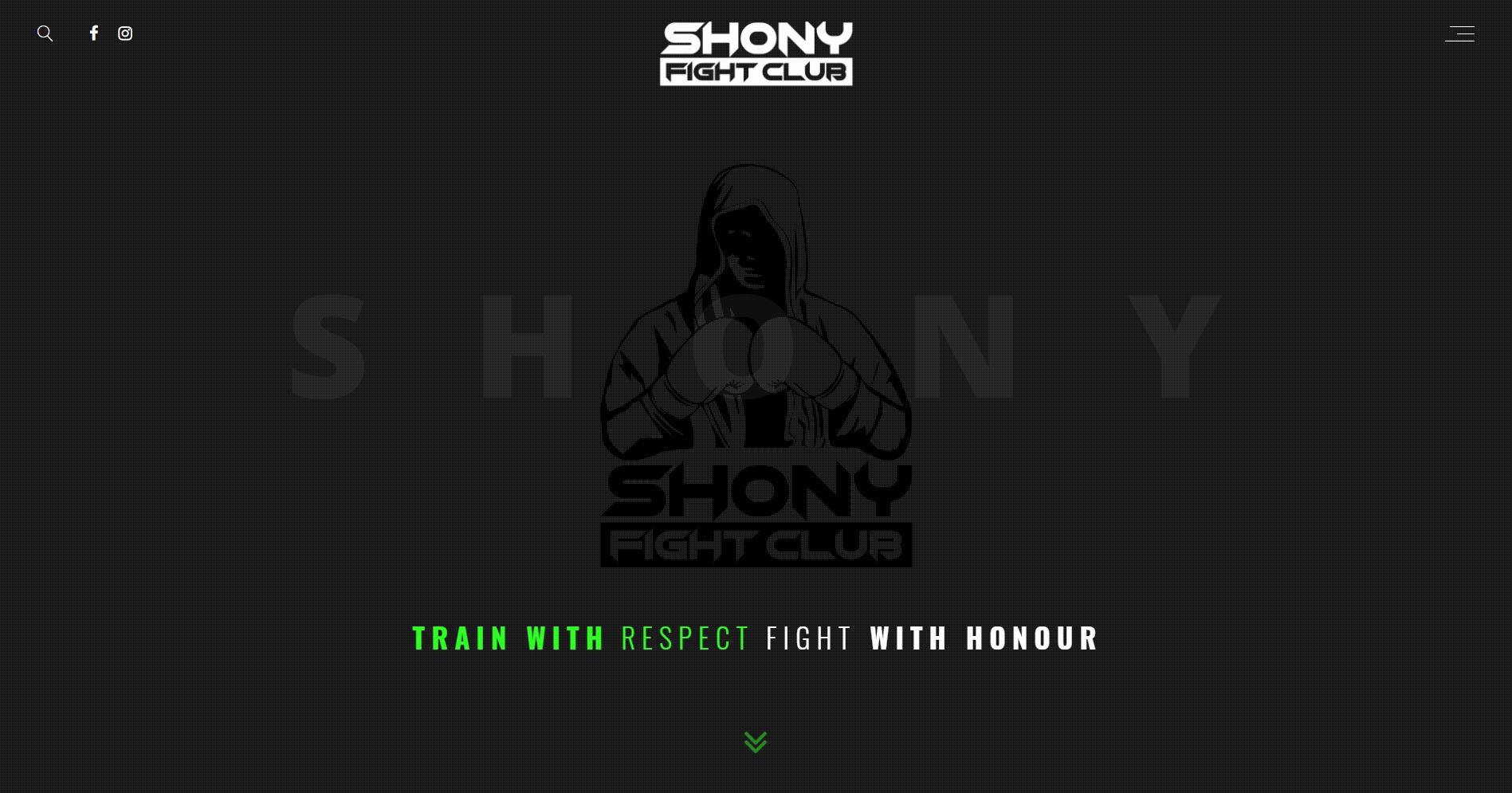 Fight Club Shony Spletna Stran